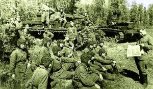 Трофейные танки в боях