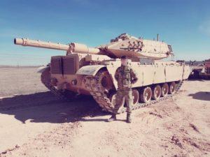 Модернизация танка М60 с фото