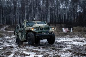 Новый бронеавтомобиль Тигр
