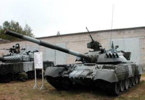 Модернизированные танки Т-80УД