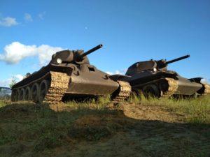 Макет Т-34