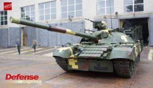 Украинская модернизация Т-72