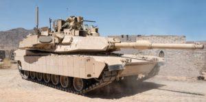 Активная защита на танке Абрамс