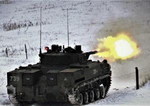 БМД 4М на линии огня