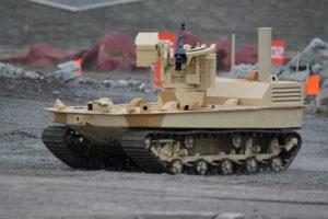 Боевой робот Волк-2