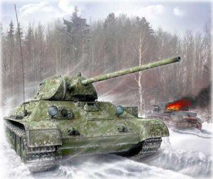 Т-34 с пушкой 57 мм