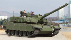 Корейский танк